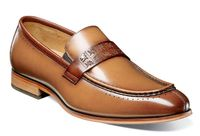 Stacy Adams Shoes New Tan Rust Stylish Penny Loafer 25179-229