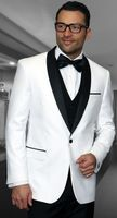 Statement White Modern Fit 3 Piece Shawl Collar Tuxedo Encore
