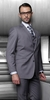 Statement Pure Wool Solid Charcoal 3 Piece Suit TZ-100