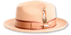 Steven Land Hats Mens Camel Wool Fedora London