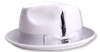 Steven Land Hats Mens Wool Silver Stingy Brim Ayden