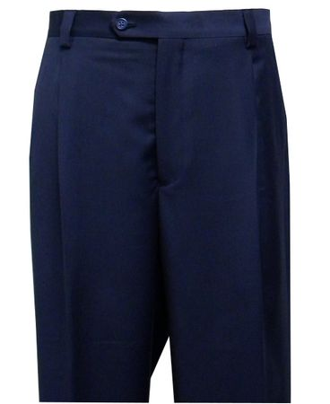 Steven Land Slacks Mens Blue Semi Wide Leg Pants SL77