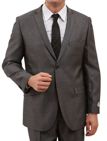 Tazio 1960s Style Herringbone 2 Button Slim Fit Suit M157S 5 Colors - click to enlarge