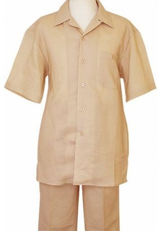 Mens Beige Linen Beach Wedding Outfits Successo SP1065 - click to enlarge