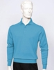 Tulliano Mens Silk Polo Sweater Heather Fine Gauge Knit Marc 8517