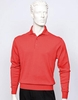 Tulliano Mens Silk Polo Sweater Red Fine Knitwear Marc 8517