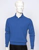 Tulliano Mens Silk Polo Sweater Royal Fine Knitwear Marc 8517