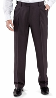 Vinci Mens Charcoal Gray Pleated Dress Pants OP-900