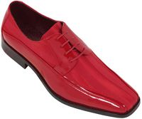 Tuxedo Shoes Mens Red Stripe Bolano 179 IS