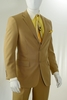 Vittorio St. Angelo Fashion Khaki Color 2 Button Suits A72TE