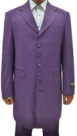 Zoot Suits Forties Style Lavender Three Piece by Alberto Zoot-100