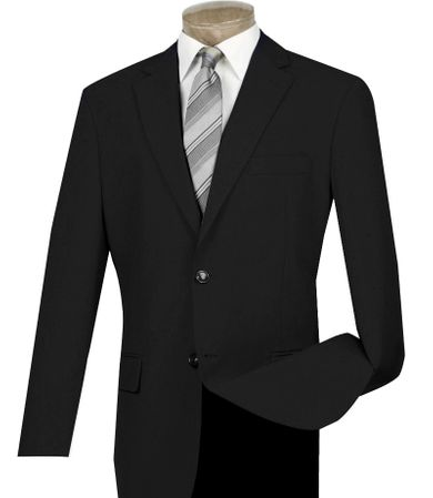 Blazers for Men Black Sport Coat Painted Buttons Lucci Z-2PP