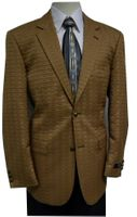 Zacchi Mens Sherman Camel Quilt Fashion Blazer 72427
