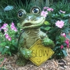 "14"" Turtle Statue - Take it Slow"
