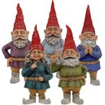 "15"" Toad Hollow Gnomes (Set of 5)"