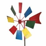 "16"" Colorful Windmill Garden Stake"