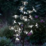 20 LED Butterflies Branch Stake