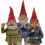 "20"" Toad Hollow Gnomes (Set of 3)"