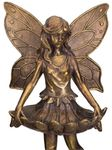 "22"" Fairy Skirt Feeder Garden Statue"