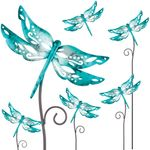 "28"" Whimsy Dragonfly Garden Stakes (Set of 6)"