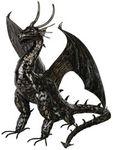 "31"" Fire Dragon Statue - Pewter"