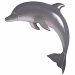 "36"" Dophin Wall Decor - Painted Finish"