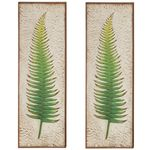 "36"" Green Fern Wall Decor (Set of 2)"