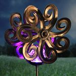 "43"" Solar Kinetic Double Waves Spinner"