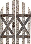 "48"" Rustic Barn Door Decor (Set of 2)"