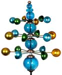 "48"" Triple Cosmic Kinetic Spinner - Blue"