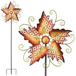"63"" Maple Lace Wind Spinners (Set of 2)"