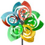 "64"" Multi Color Swirl Wind Spinner"