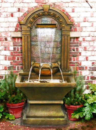 80 Quot Old World Tiering Fountain W Led Lights Only 7 489 99
