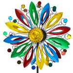 "84"" Multi-Color Artistic Wind Spinner"