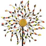 "85"" Autumn Leaves Wind Spinner"
