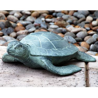 Aluminum Garden Turtle - Click to enlarge