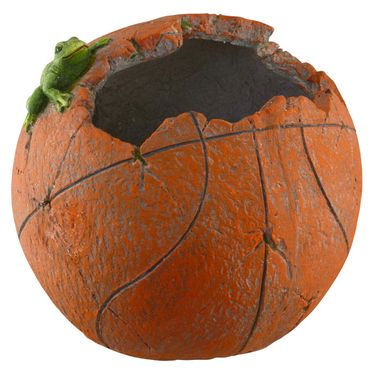 Basketball Planter w/ Frog - Click to enlarge