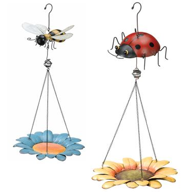 Bee & Ladybug Bird Feeder Combo! - Click to enlarge