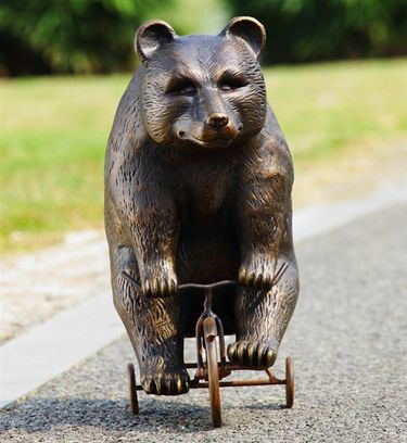 Big Bear on Circus Trike - Click to enlarge