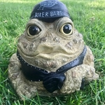 Biker Babe Toad - Natural
