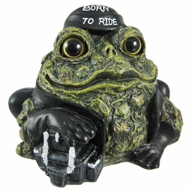 Biker Toad - Green - Click to enlarge