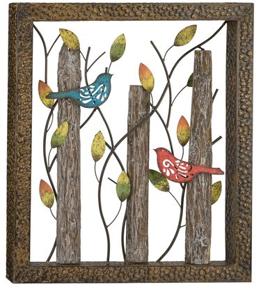 Birds in the Woods Wall Decor - Click to enlarge