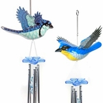 Bluebirds Hanging Wind Chimes (Set of 2)