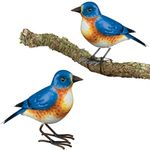 Bluebird Tree Branch Decor (Set of 2)