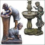 Boy & Girl Fountains