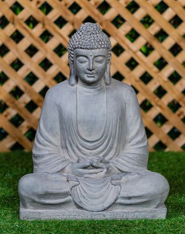 Large Sitting Buddha Statue - Click to enlarge
