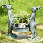 Bunny Gardeners Pot Holder / Planter