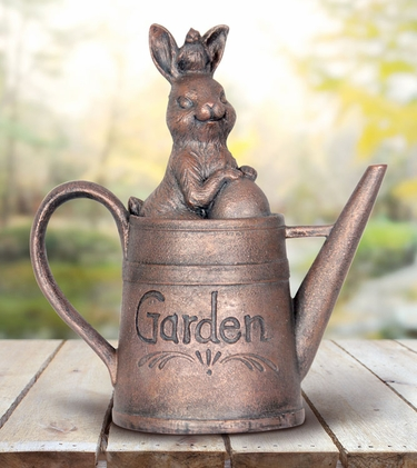 Bunny in Watering Can - Click to enlarge