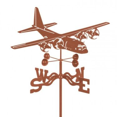 C-130 Airplane Weathervane - Click to enlarge