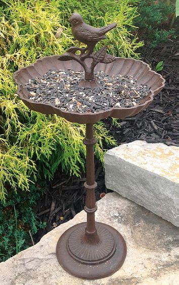 Cast Iron Classic Bird Feeder - Click to enlarge